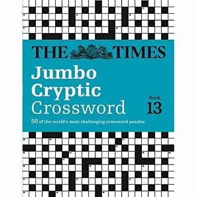The Times Jumbo Cryptic Crossword Book 13 - Paperback NEW Browne, Richard 2014-0