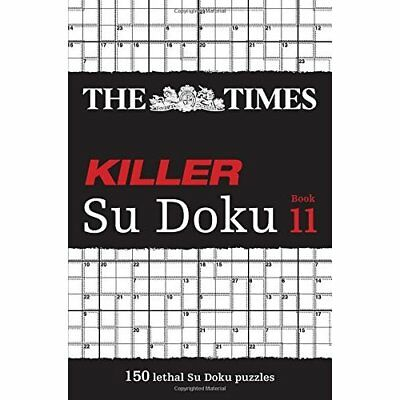 The Times Killer Su Doku Book 11 - Paperback NEW The Times Mind  2015-03-12
