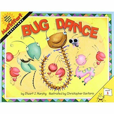 Bug Dance (Mathstart: Level 1 (HarperCollins Paperback) - Paperback NEW Santoro,