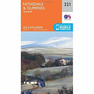 OS Explorer Map (321) Nithsdale and Dumfries - Map NEW Ordnance Survey 2015-09-1