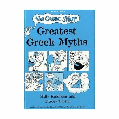 The Comic Strip Greatest Greek Myths - Hardcover NEW Turner, Tracey 2010-10-04