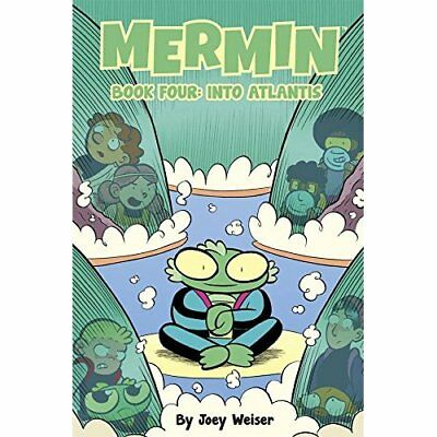 Mermin Volume 4: Into Atlantis (Mermin Hc) - Hardcover NEW Joey Weiser (Au 2015-