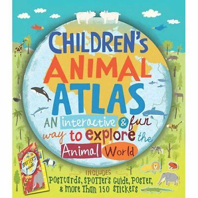 Children's Animal Atlas - Hardcover NEW Barbara Taylor  2015-09-15