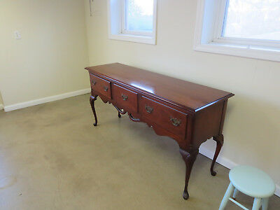 "CHERRY SIDEBOARD with QUEEN ANNE LEGS - 67"" Wide x 33"" Tall x 20"" Deep"