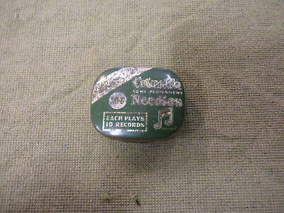 #D330.  Columbia Grammophone Needle  Tin, With Needles