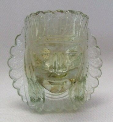Boyd Glass War Chief Toothpick Ring Holder (Country Yellow) Last Five Years