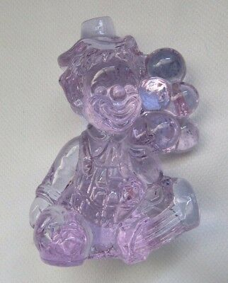 Mosser Glass  Balloon Clown   (Eros ) Alexandrite Dated 81
