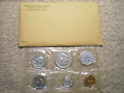 1961 U.s. Proof Set In Original Holder (Envelope)