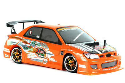 HSP Subaru WRX 1/10 Scale RTR 2.4GHz Radio Control RC Electric Drift Car w/LED L