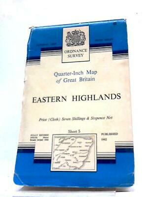 Ordnance Survey Quarter-Inch Map of Gr Anon 1962 Book (ID:12705)