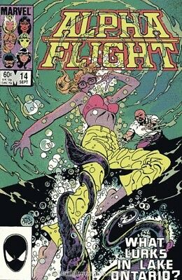 Alpha Flight #14 Vol.1 Vf/nm (X-Men)