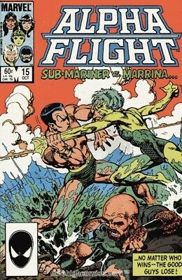 Alpha Flight #15 Vol.1 Vf/nm (X-Men)