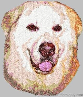 Embroidered Sweatshirt - Great Pyrenees DLE1548 Sizes S - XXL