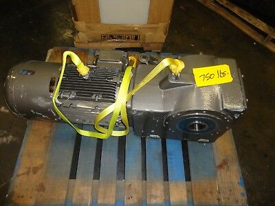 Nord Gear 15 Hp Motor & Gear Reducer Sk160Mp/4 Cus  Bre250 Hl Tw Sh