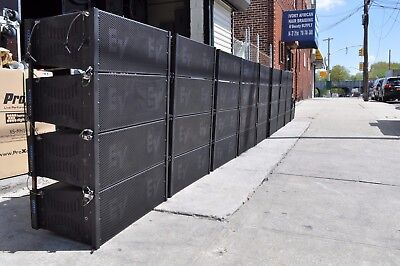 EV / Electro-Voice Speaker XLD 281 three-way compact line array (LOT OF EIGHT )