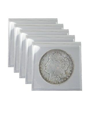 1921 Silver Morgan Dollar Cull Lot of 5 S$1 Coins