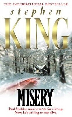 Misery by King, Stephen Hardback Book The Cheap Fast Free Post