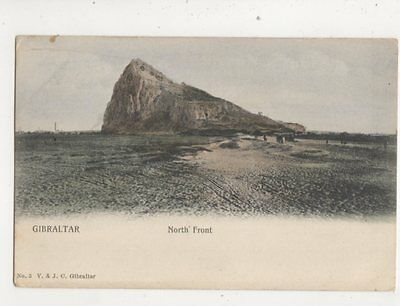 Gibraltar North Front 1921 Postcard 372b
