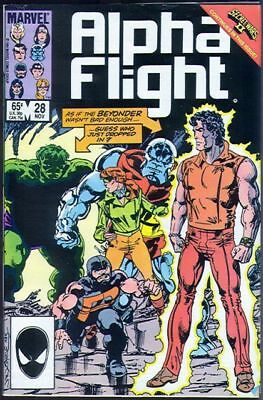 Alpha Flight #28 Vol.1 Vf/nm (X-Men)