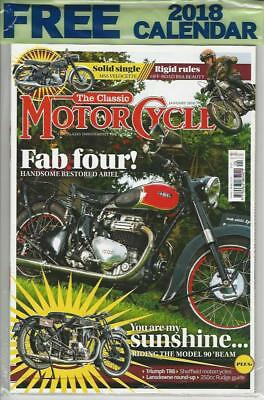 CLASSIC MOTORCYCLE- January 2018-(NEW COPY)*Post included to UK/Europe/USA