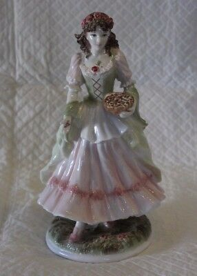 Royal Worcester Limited Edition Figure - The Queen of the May