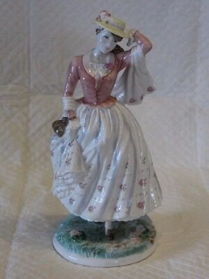 Royal Worcester Limited Edition Figure - Sunday Best