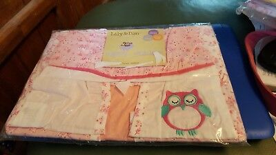 NAPPY STACKER + 2 unused cot bags FREE P&P Excellent Condition