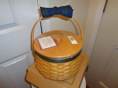 Longaberger  Collectors Club  Sewing Circle Basket Combo