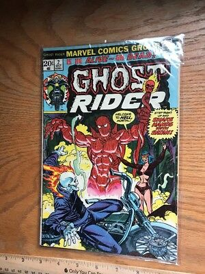 Ghost Rider #2! 1st Full Appearance Of Daimon Hellstrom! RARE Not Graded
