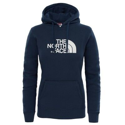 The North Face W Drew Peak Pullover Hoodie urban navy/vintage white Kapuzenpulli