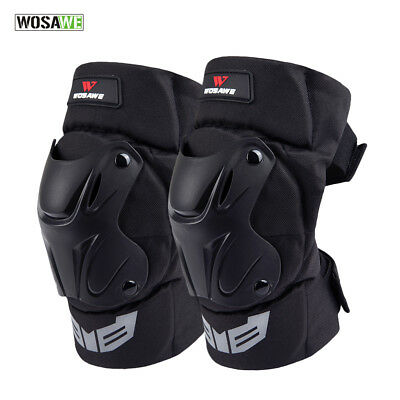 Motorcycle Motocross Racing Knee Pads Protector Guards Armor Gear Cycling Brace
