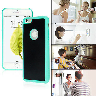 Anti Gravity Nano Suction Tech Magic Selfie Phone Case For iPhone 7 8 6 6S Plus
