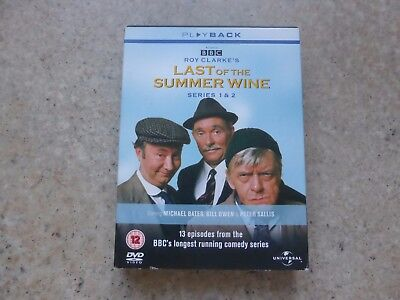 Last Of The Summer Wine - Series 1-2 - Complete (DVD, 2002, 4-Disc Set, Box Set)