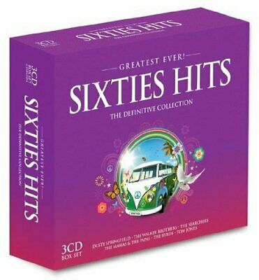 Various Artists - Greatest Ever Sixties Hits - Various Artists CD KSVG The Cheap