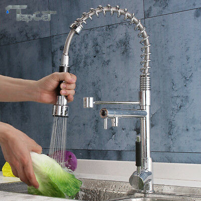 TAPCET Mixer Tap Chrome Brass Hot/Cold Water Kitchen Vanity Sink Basin Faucet AU