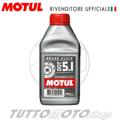 500 Ml Liquido Freno Motul Dot 5.1 100% Sintetico Olio Freni Brake Fluid