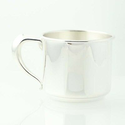 "W Bell & Co Baby Cup w/ Handle Sterling Silver Hollowware 2 3/8"" Engravable"