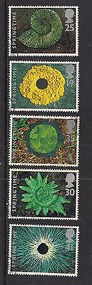 GB 1995 QE2 The 4 Seasons Springtime Used set of 5 stamps ex FDC ( A1435 )