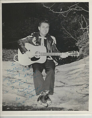 Bob Homan 3 - 8 x 10 Publicity Photos ALL SIGNED - Grand Ole Opry