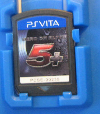 Dead or Alive 5 Plus PS VITA Sony PlayStation Vita PSVITA * ONLY GAME *AUTHENTIC