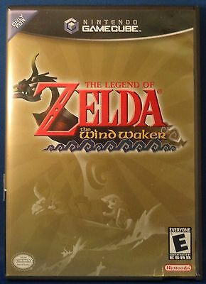 Legend of Zelda: The Wind Waker (Nintendo GameCube, 2003) Free Shipping!