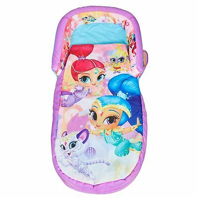 NEW Shimmer and Shine My First ReadyBed - Toddler Airbed & Sleeping Bag