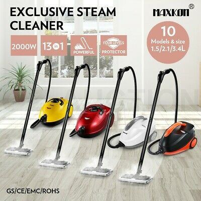 1.5/2.1/3.4L Home High Pressure 13 in 1 Carpet Floor Window Steam Cleaner 2000W