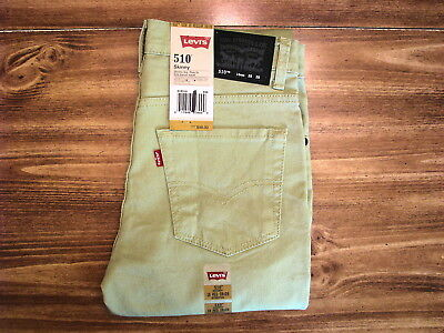 Levi's 510 Youth/Child Size 16 Reg (28x28) New Kids Jeans/Pants/Clothing
