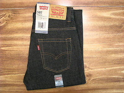 Levi's 505 Youth/Child Size 12 Slim (24x26) New Kids Denim Jeans/Pants/Clothing