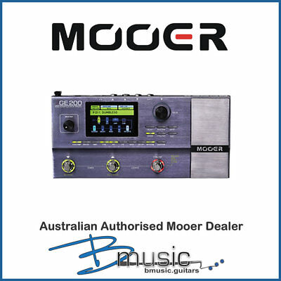 NEW Mooer GE200 Amp Modelling and Multi-Effects - Authorised Australian Dealer