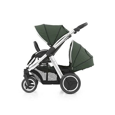 BabyStyle Oyster MAX 2 Tandem Silla de paseo Mirror ( Verde Oliva )