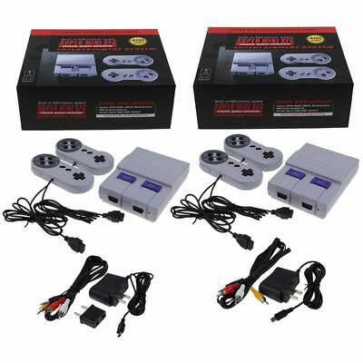 Super NES SNES Classic Game Console Entertainment Built -in 400 Kids Xmas Gifts