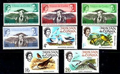 Stamps  From Tristan Da Cuhna 1967.