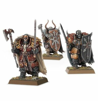 ML Warhammer Age of Sigmar 12 Warriors of Chaos on Sprue